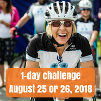 one day challenge, August 25 or 26 2018