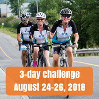 three day challenge, August 24-26 2018
